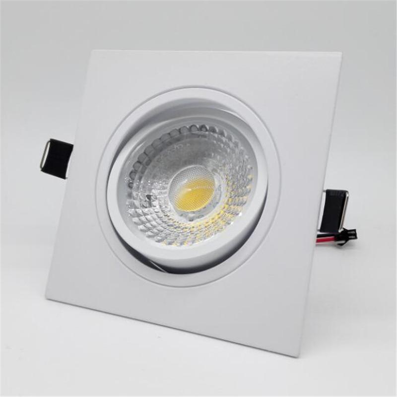 AC85-265v Meydanı 10w / 15w ölçülü cob led tavan lampası reched - Daxili işıqlandırma - Fotoqrafiya 2