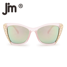 JM Luxury Embellished Oversized Sunglasses Stylish Designer Shades Gradient Sun Glasses Women Eyewear