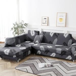Image 5 - Köşe kanepe oturma odası için kapakları slipcovers elastik streç kesit kanepe cubre kanepe, L şekli satın almanız gerekiyor 2 adet
