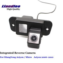 Liandlee For SSangYong Actyon / Micro Actyon 2006~2010 Car Reverse Camera Backup Parking Rear View Camera / Integrated SONY CCD ветровики mobis ssangyong actyon 2006 2010