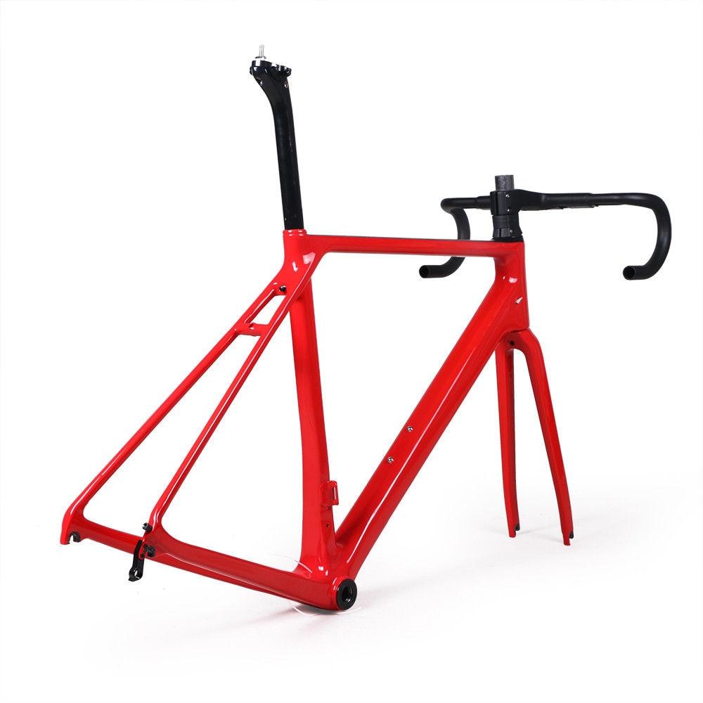 Many color carbon fibre road bike frame fork clamp seatpost Carbon ...