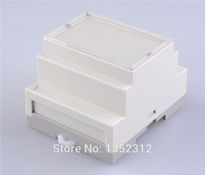 72*87*60mm Electrical box IP54 waterproof industrial boxes standard din rail plastic enclosures for electronic project box image