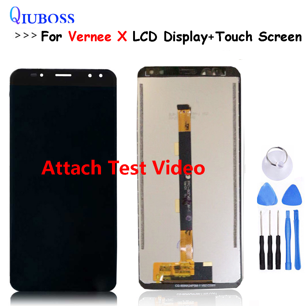 100% Tested For Vernee X LCD Display +Touch Screen Assembly Digitizer Replacement For LCD For Vernee X1 Display100% Tested For Vernee X LCD Display +Touch Screen Assembly Digitizer Replacement For LCD For Vernee X1 Display