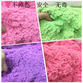 2016 100G/bag Hot sale dynamic educational Amazing No-mess Indoor Magic Play Sand Children toys Mars space sand