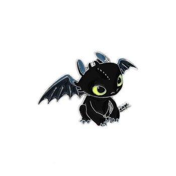 Брошка Беззубик Как приручить дракона сплав