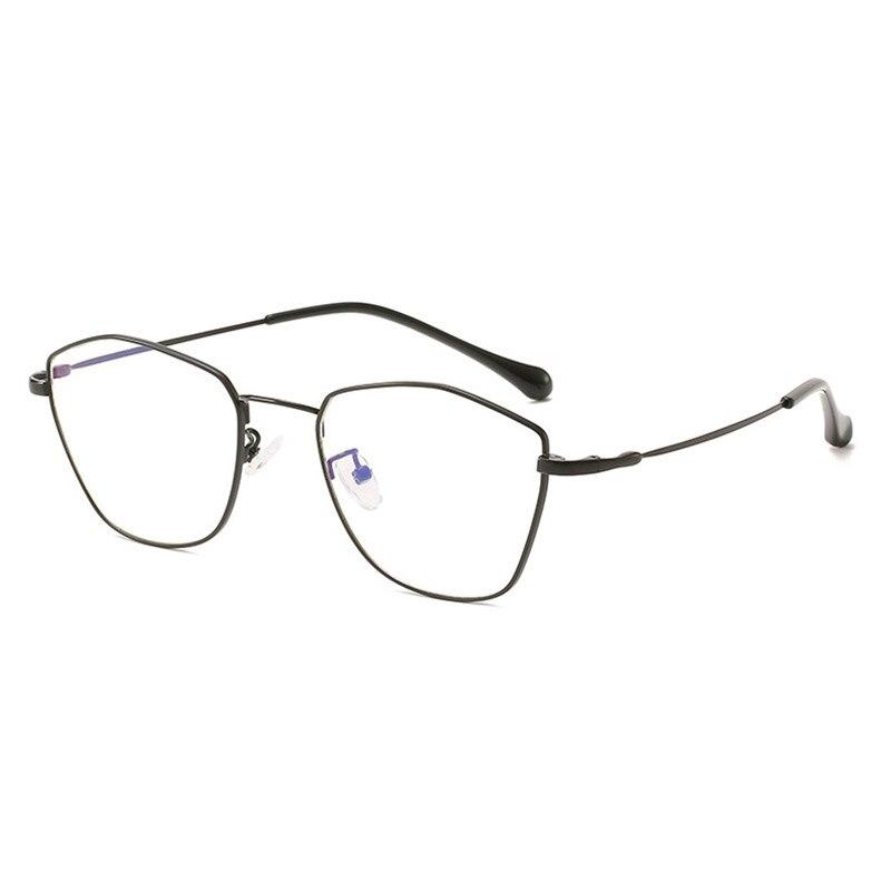 Handoer 9641 Optical Glasses Frame For Men And Women Alloy Eyewear Full Rim Alloy Spectacles Glasses Optical Fashion Flexible