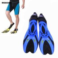 Chaude Haute Flexibilité Caoutchouc Palmes De Natation Submersible Palmes Sports de Plein Air Confortable Palmes de Plongée Chaussures pour Chaussures De Natation
