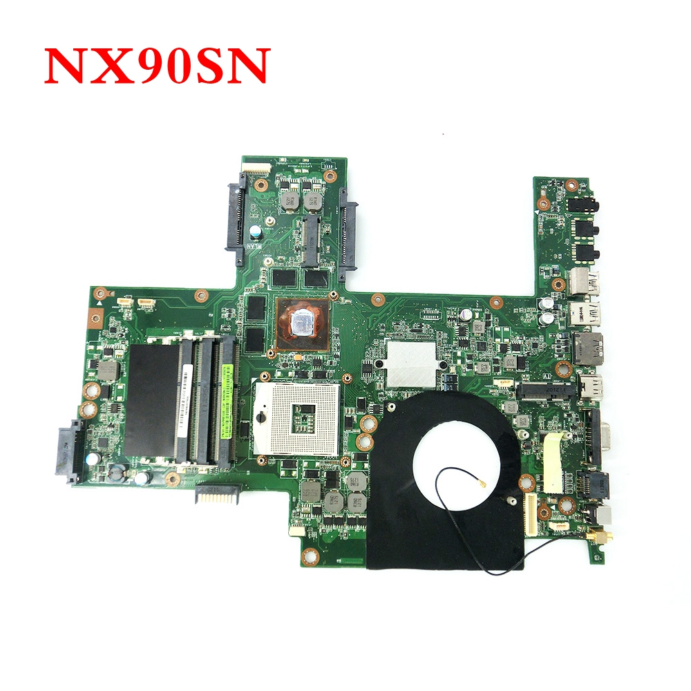 NX90SN HM65 GT540M 1GB mainboard REV 2.0 For ASUS NX90SN NX90S DDR3 Laptop motherboard 100% Tested Working free shipping k42dr hd5470 1gb mainboard rev 2 3 for asus a42d k42d k42dy k42dr laptop motherboard 2 slots 100% tested working free shipping