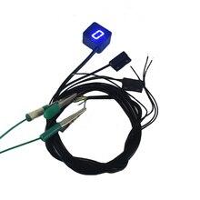 Motorcycle LED Digital Gear Indicator Car-Styling For Motorcycle Light Neutral Display Shift Lever Sensor Bule Motocicleta