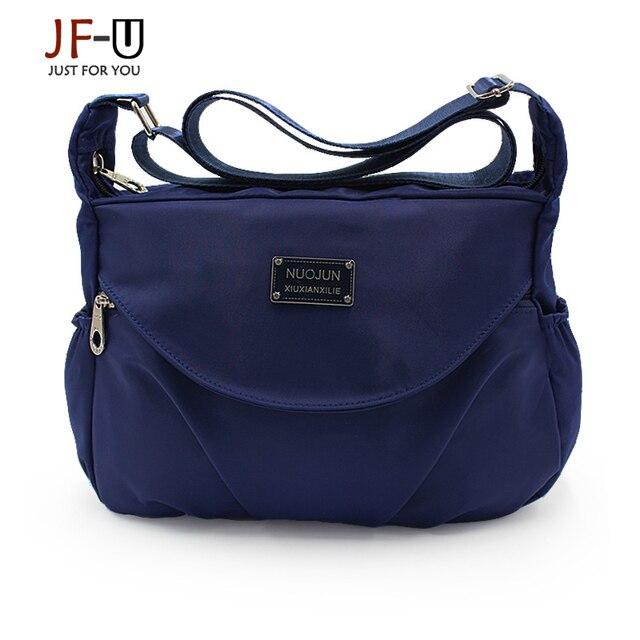 New Female Bag Women Messenger Bags Women Shoulder Bags Women Hobos Nylon Solid Bolsas De Luxo Mulheres Sacos De Designer