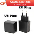 40pcs/lot 5.2V 1.35A EU US Plug AC Travel Adapter For ASUS Zenfone 2 5 6 iphone LG universal Wall Home Charger Power