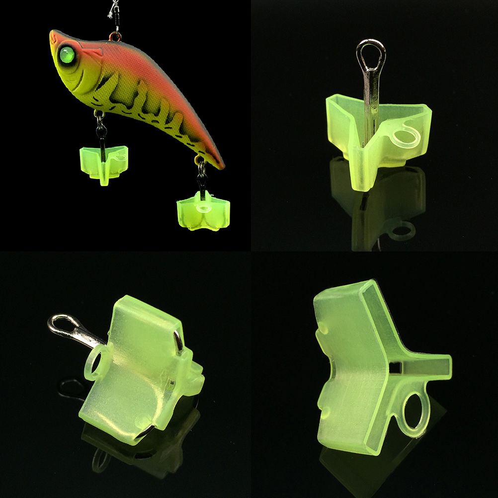 10pcs plastic treble hook protectors covers for fishing for Fishing hook protector