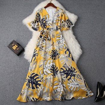 722c023c8023b97 Product Offer. Платье с принтом женское повседневное 2019 Весна Лето ...