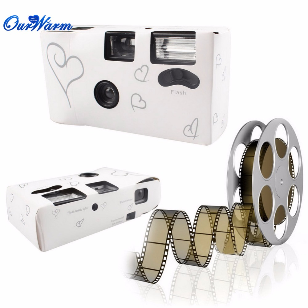 10pcs Hearts Disposable Camera 36 Photos for Wedding Decoration Hen Party Favors Bachelorette Party Valentine s