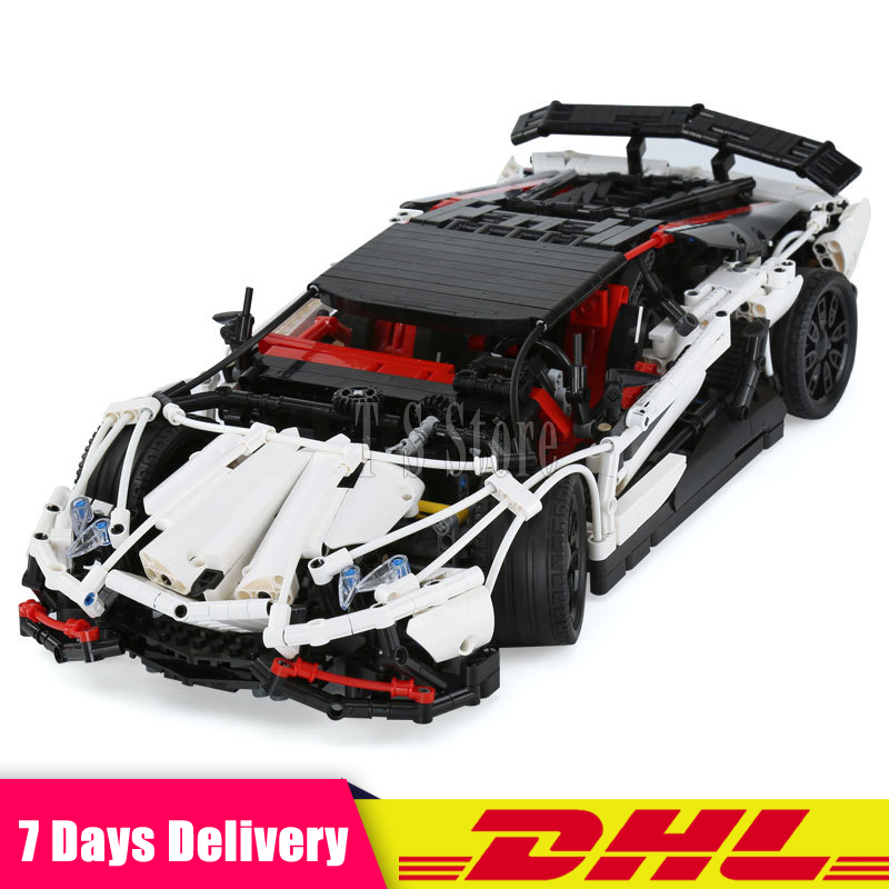 IN Stock LEPIN 23006 Genuine New Technic Series The Hatchback Type R Set Building Blocks Bricks Educational Toys Boy Gifts Model new stock lepin 07052 batcave break in set 1047pcs genuine model moviebuilding blocks bricks educational toys boys girls 70909