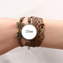 Attack on Titan Brown Leather Bracelet (6 styles)
