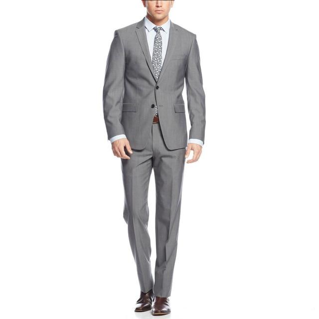 Customized Two Button Groom Tuxedos Notch Lapel Best man Suit Light ...