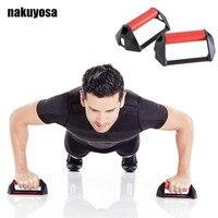 1 Par de Flexiones Soportes en forma de I Push-Up Rack Maneja Enquipment de Fitness Gym Home Herramientas de Entrenamiento Muscular