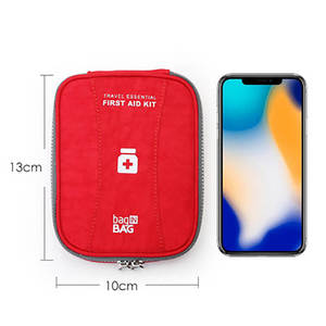 Image 4 - Mini First Aid Kit Travel Camping Medical Bandage Bag Family Sports Car First Aid Bag Tactical Military Emergency Survival Kit