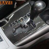 Adapt to toyota rav4 accessories stickers emblems modification of carbon fiber car interior trim rav4 2007 2008 2006 2012 year