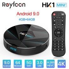 Android 9.0 Smart TV Box 4GB 64GB Rockchip RK3318 USB3.0 108