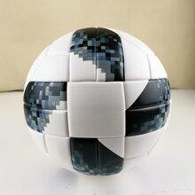 Официальный размер 5 футбольный мяч PU гранулы нескользящий бесшовный футбольный мяч подарок цель командный матч футбольные тренировочные мячи