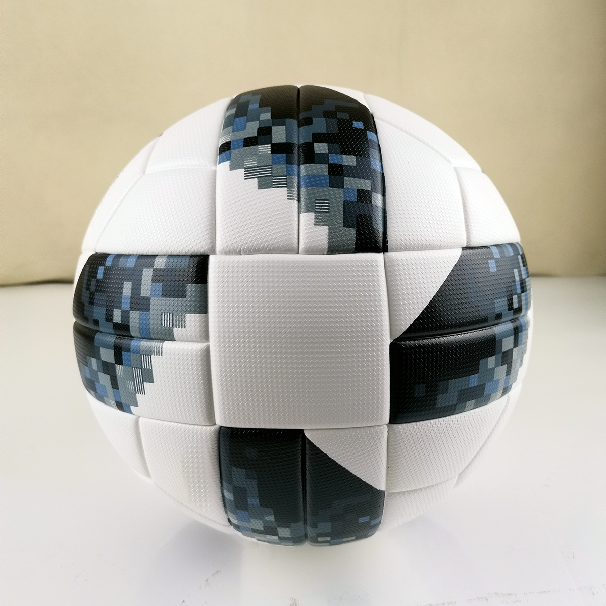 Official Size 5 Football Ball PU Granule Slip-resistant Seamless Soccer Ball Gift Goal Team Match Football Training Balls