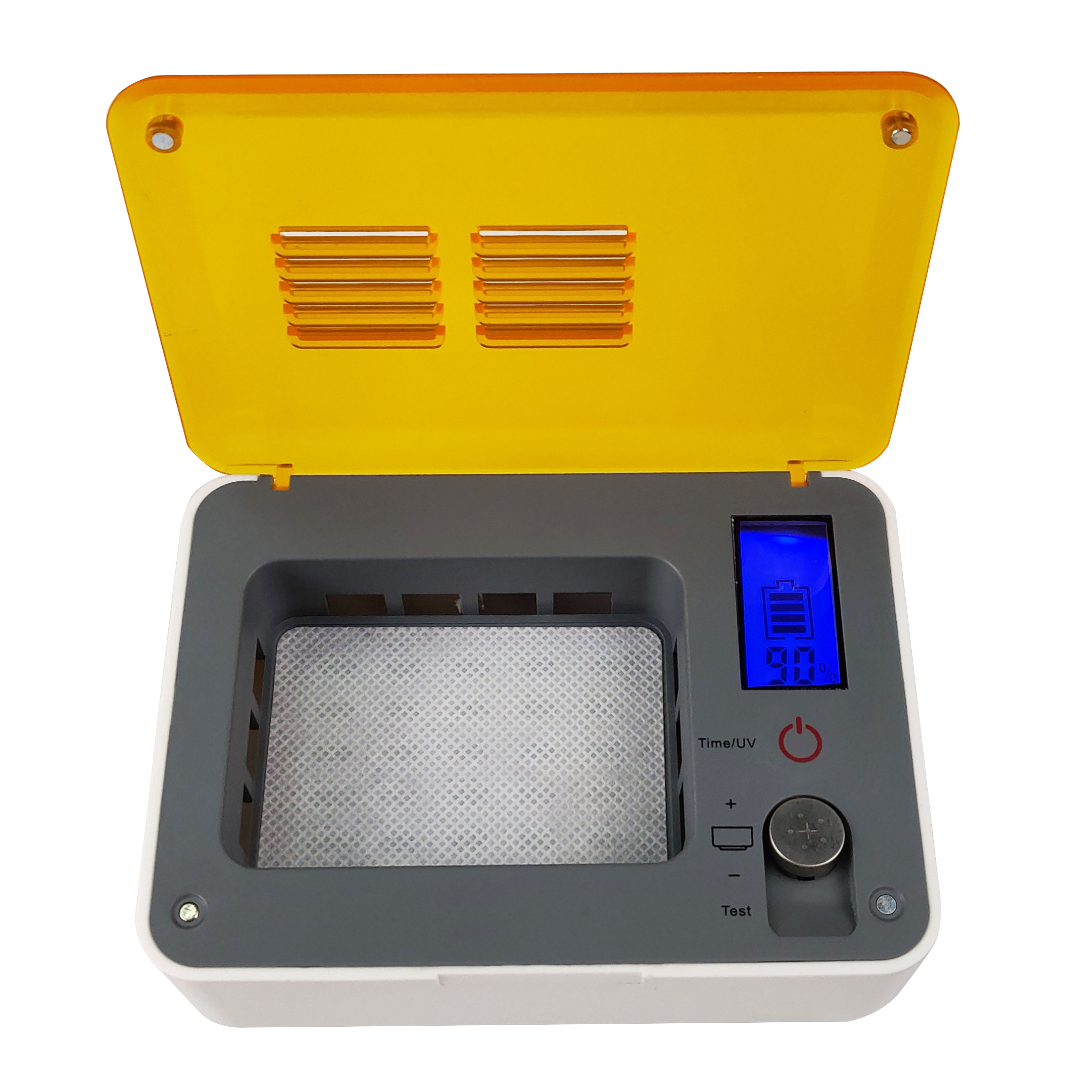 Digital Hearing Aid Accessories Drying Dehumidifier Box With Timing And UV Function