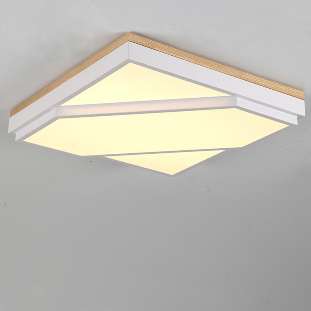 Licht & Beleuchtung Moderne Led-deckenleuchte Quadratische Form Fernbedienung Led-deckenleuchte Für Wohnzimmer Bett Zimmer Studie Zimmer Reines Und Mildes Aroma