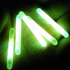 Image 2 - 50 Packs/box 4.5X37MM 7.5X75MM Fishing Glow Stick Luminous Night Sticks Wand Chemical Fluorescent Lighting Stick Pesca