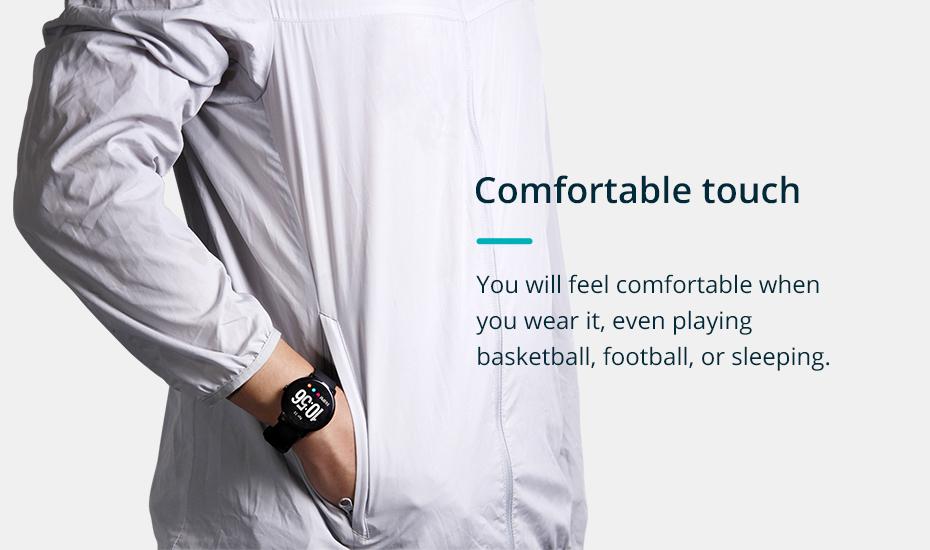 COLMI V11 Smart watch IP67 waterproof Tempered glass Activity Fitness tracker Heart rate monitor BRIM Men women smartwatch 2