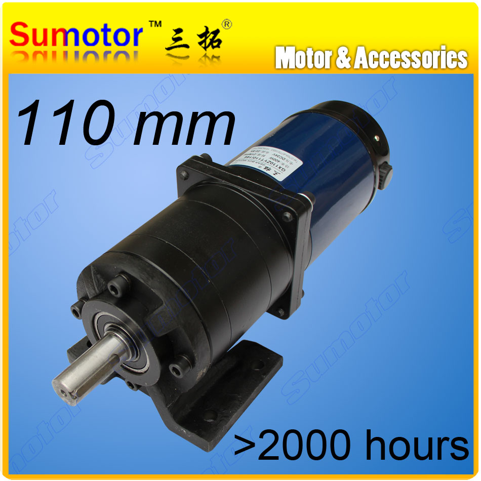 GX110 24V 700W low speed DC Planetary geared motor DC brushed motor High Quality large torque Planetary gear box Truck tarpaulin цена