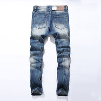 Fashion Dsel Designer Jeans Men Famous Brand Ripped Jeans Denim Cotton Jeans Men Casual Pants Printed