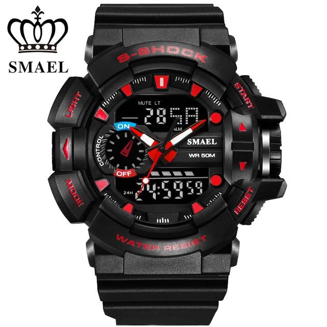 Hotsale Military Sport Watches Men Digital Led Watch Quartz  Wristwatch 30M Waterproof Casual Watch Men Clock montre hommeWS1436