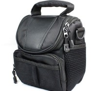 Black Camera Bag Bottom Case For Nikon 1 J5 1J5 PU Leather Half Body Set Cover With Battery Opening Free Shipping