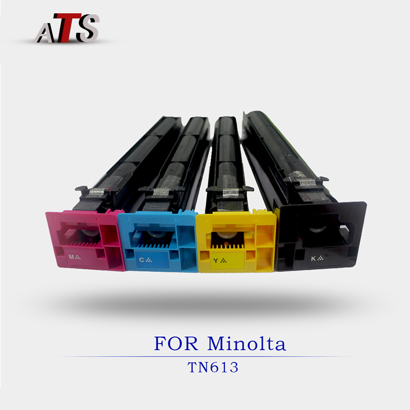 1PCS photocopier fitting Toner Cartridge For Minolta TN613 Bizhub BHC 452 552 652 Copier Parts C452 C552 Photocopy Machine second hand transfer unit for minolta di163 high quality photocopy machine copier parts di 163