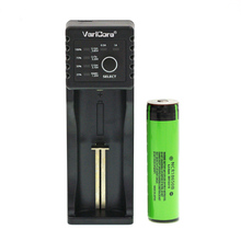 2016 New original for panasonic 18650 lithium-ion battery 3400 mAh NCR18650B 3.7 V Rechargeable batteries+U4 charger