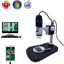 Cheapest prices USB Digital OTG Microscope Camera 500x 800x 1000x Portable Magnification Endoscope Stand for Samsung Android Mac Window