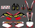 0177 NEW STYLE TEAM DECALS STICKERS GraphicS For CR125 CR250 2000 2001