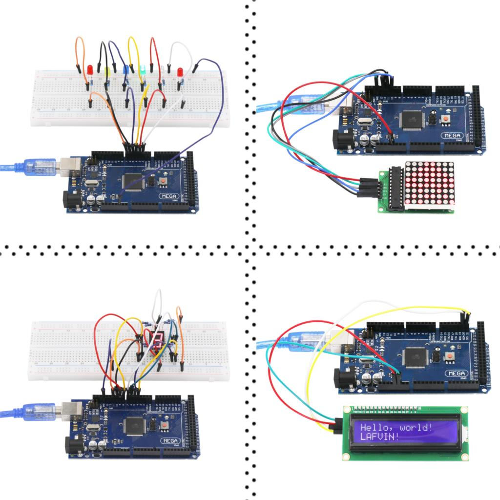 Image 3 - LAFVIN Mega 2560 Project The Most Complete Starter Kit with Tutorial for Arduino-in Integrated Circuits from Electronic Components & Supplies