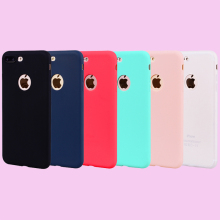 Fashion Candy Colors Soft TPU Case Phone Silicone Cover Shell Coque Fundas for Apple iPhone 5 5S SE 6 6S 7 8 Plus X XS XS Max XR