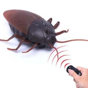 Электронная игрушка питомец Высокая симуляция животное Таракан робот инфракрасный пульт дистанционного управления детская игрушка подар...