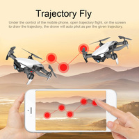 LAUMOX M69G FPV RC Drone 4K Camera Optical Flow Selfie Dron Foldable Wifi Quadcopter Helicopter VS VISUO XS816 SG106 SG700 X12 4