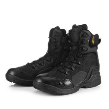 Tactical Boots Summer Combat Boots Ultralight Breathable Male Special Forces Tactical Military Shoes Men's Boots