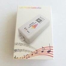 LED Bluetooth SP107E Pixel IC SPIเพลงLED ControllerโดยAPPโทรศัพท์สำหรับWS2812 SK6812 SK9822 RGBW APA102 LPD8806 Strip DC5 24V