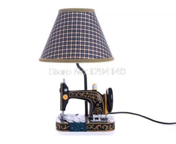 ... 2015 Free Shipping 1Piece Retro Sewing Machine Lamp Vintage Table Lamp  ...