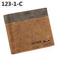 2016 Hot Selling Men's Faux Leather Wallet ID Credit Card Holder Money Purse Clutch Pocket Gift