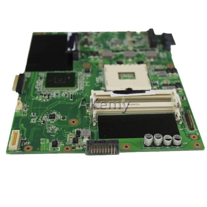 Akemy K52F Laptop motherboard for ASUS K52F X52N A52F K52 Test original mainboard PGA989 HM55