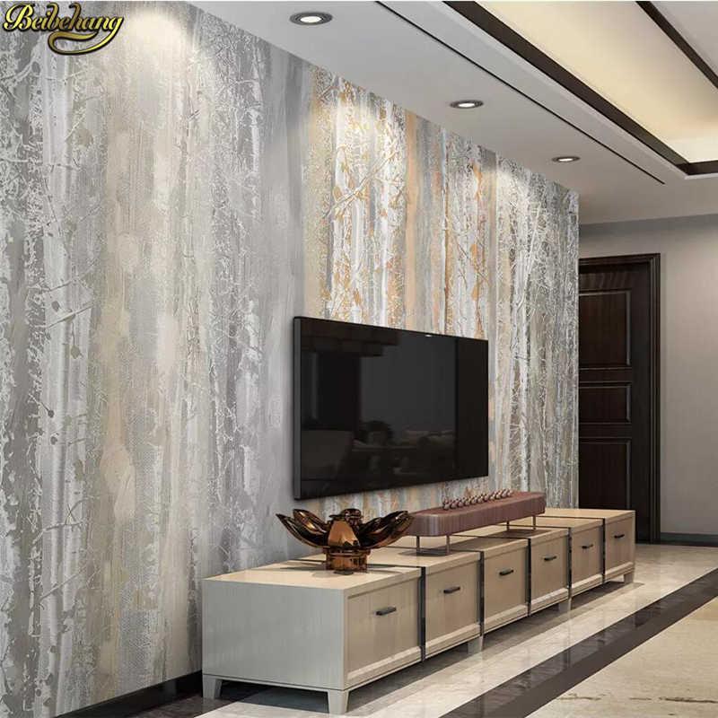 Beibehang пользовательские леса скандинавские papel де parede 3D Фреска резьба разворачивается ТВ фон обои фрески обои для стен 3 d