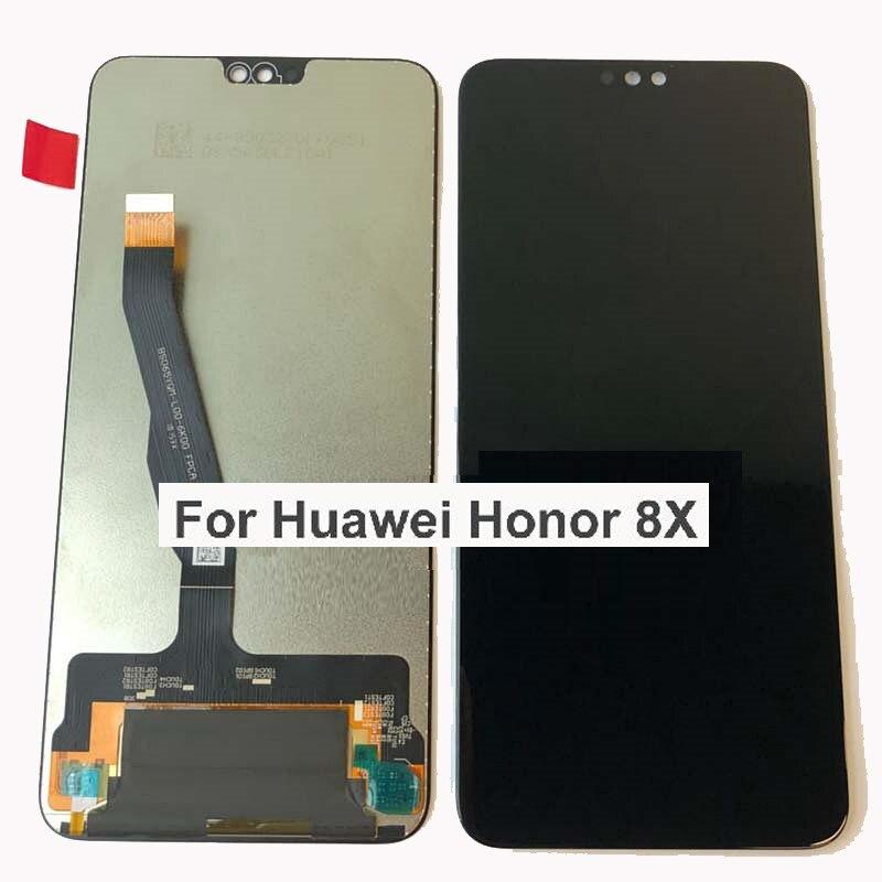 LCD 6.5 Pour Huawei Honor 8X écran LCD Affichage + écran tactile Numériseur capteur 2340x1080 JSN-L21 JSN-L42 JSN-AL00 JSN-L22